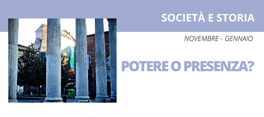 societa e storia