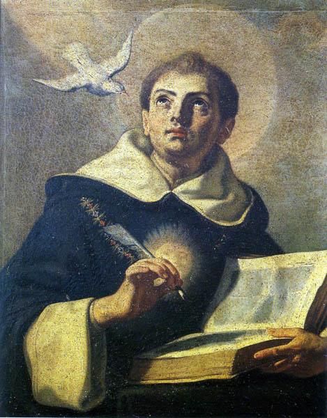 11-Francesco Solimena (attr.) - San Tommaso d'Aquino (Napoli, S. Domenico Maggiore)