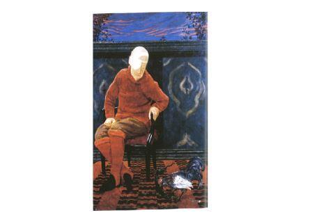 Ercole Sbellato, Ritratto di Gabriele D'Annunzio, 1916, olio su tela, cm 210x150. Gardone Riviera, Il Vittoriale degli italiani