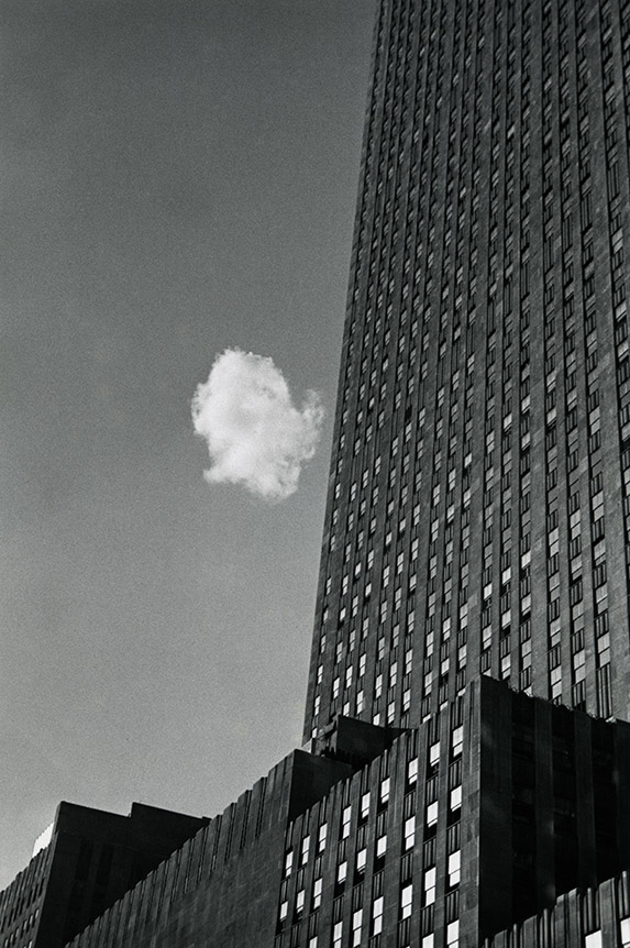 Nuage perdu, New York, 1937