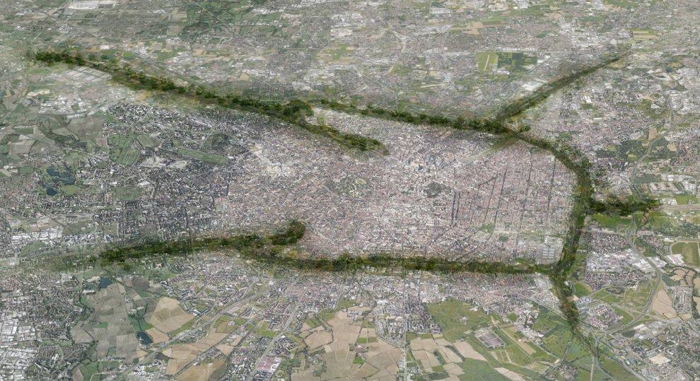 cintura del verde su titti gli scali