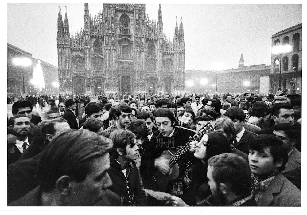 Fotografia di Gianni-Berengo-Gardin-Milano-1968 (esposta al CMC nel 2005)