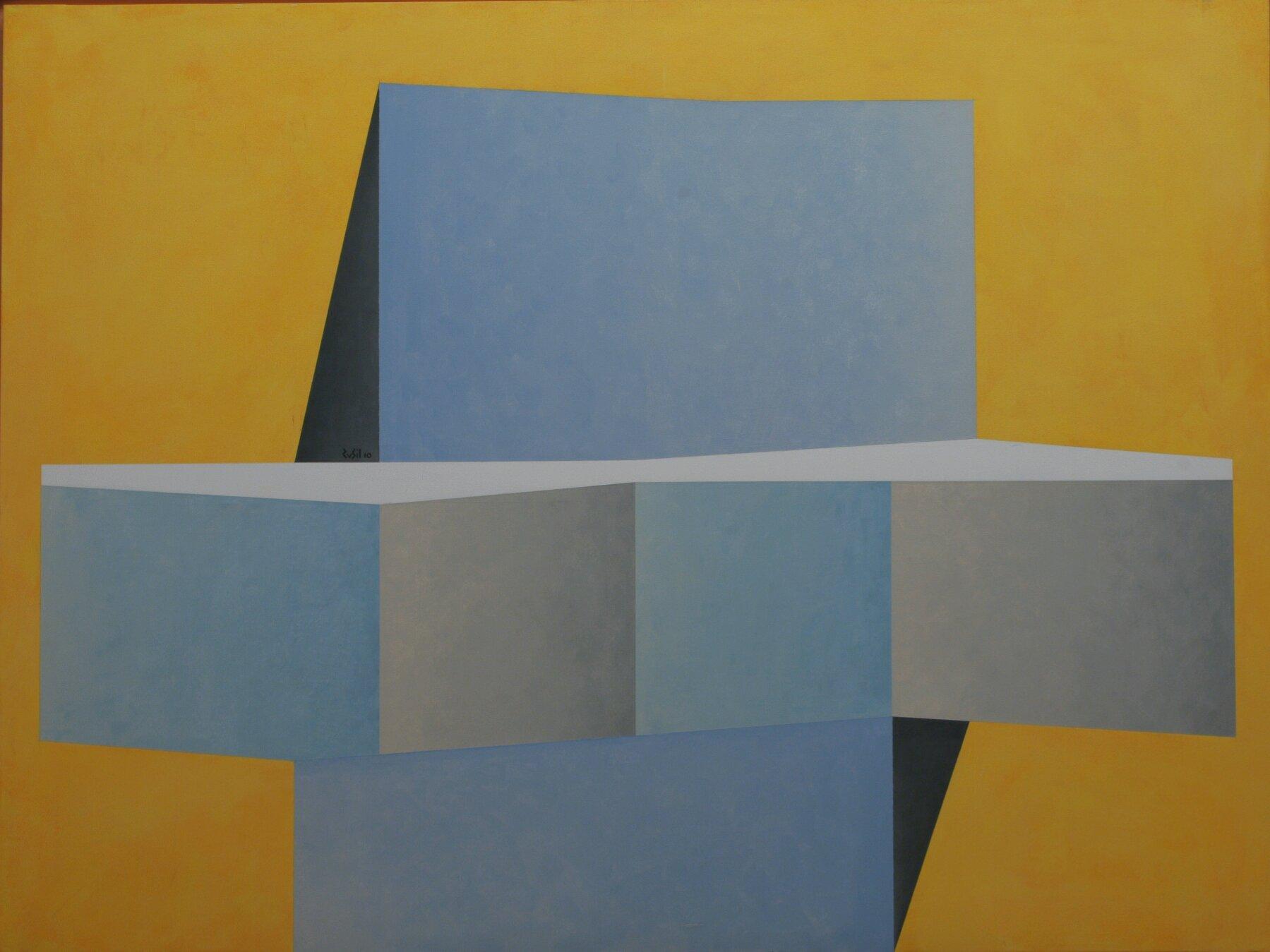 Altare - 2010 - olio e acrilico su tela - 90x120