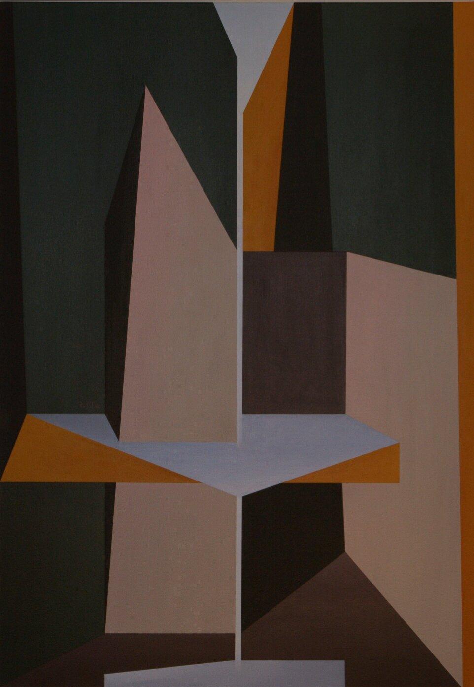 Fontana - 2012 - acrilico su tela - 100x70