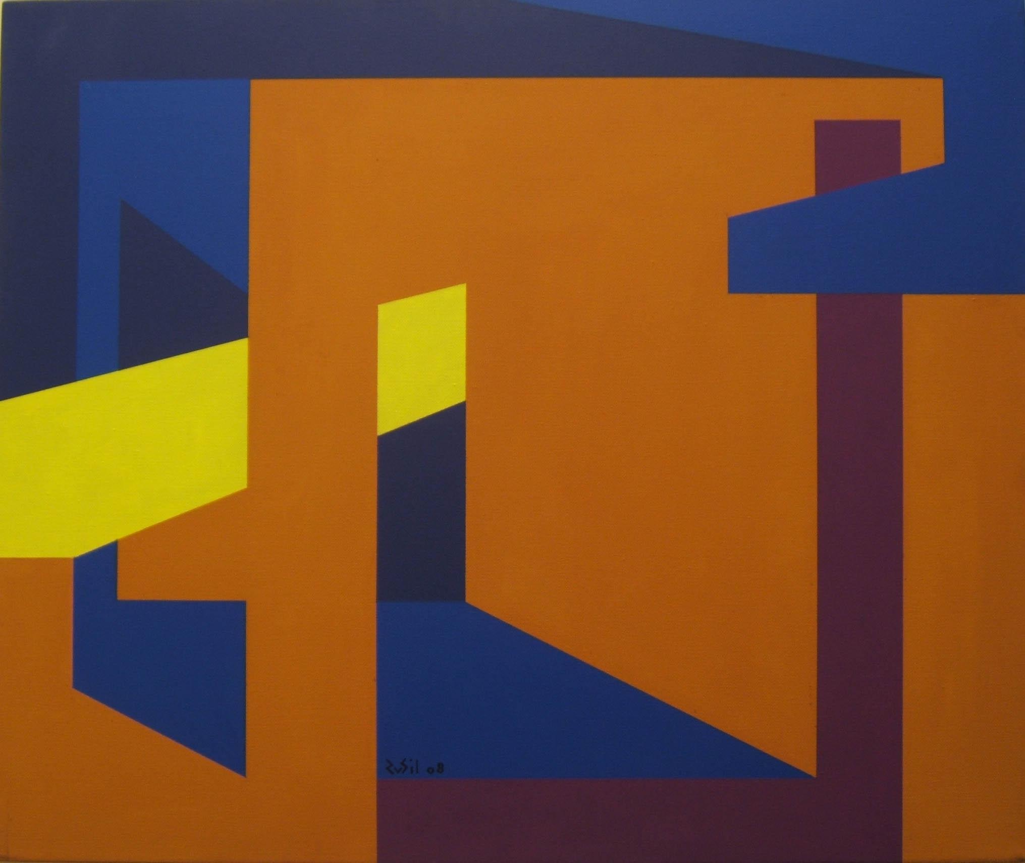 Luce nella stanza -2008 - acrilico su tela - 50x60