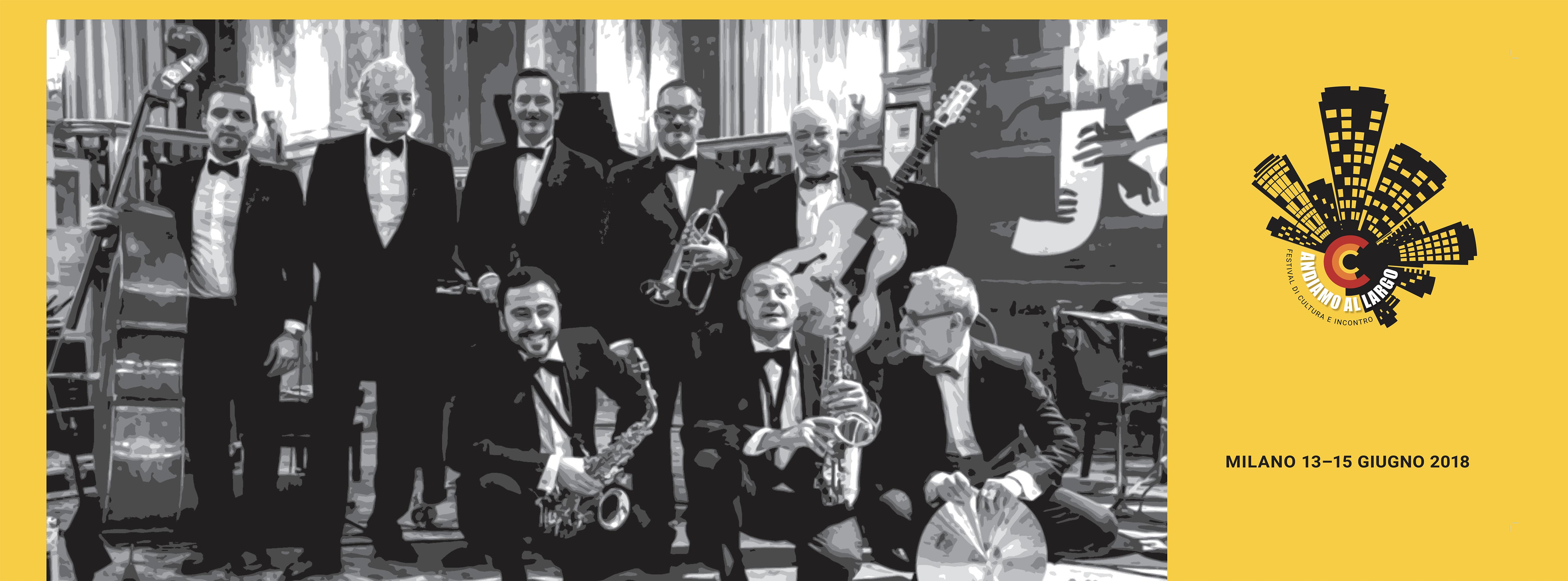 Hot jazz orchestra formato 125x40_tipo B14
