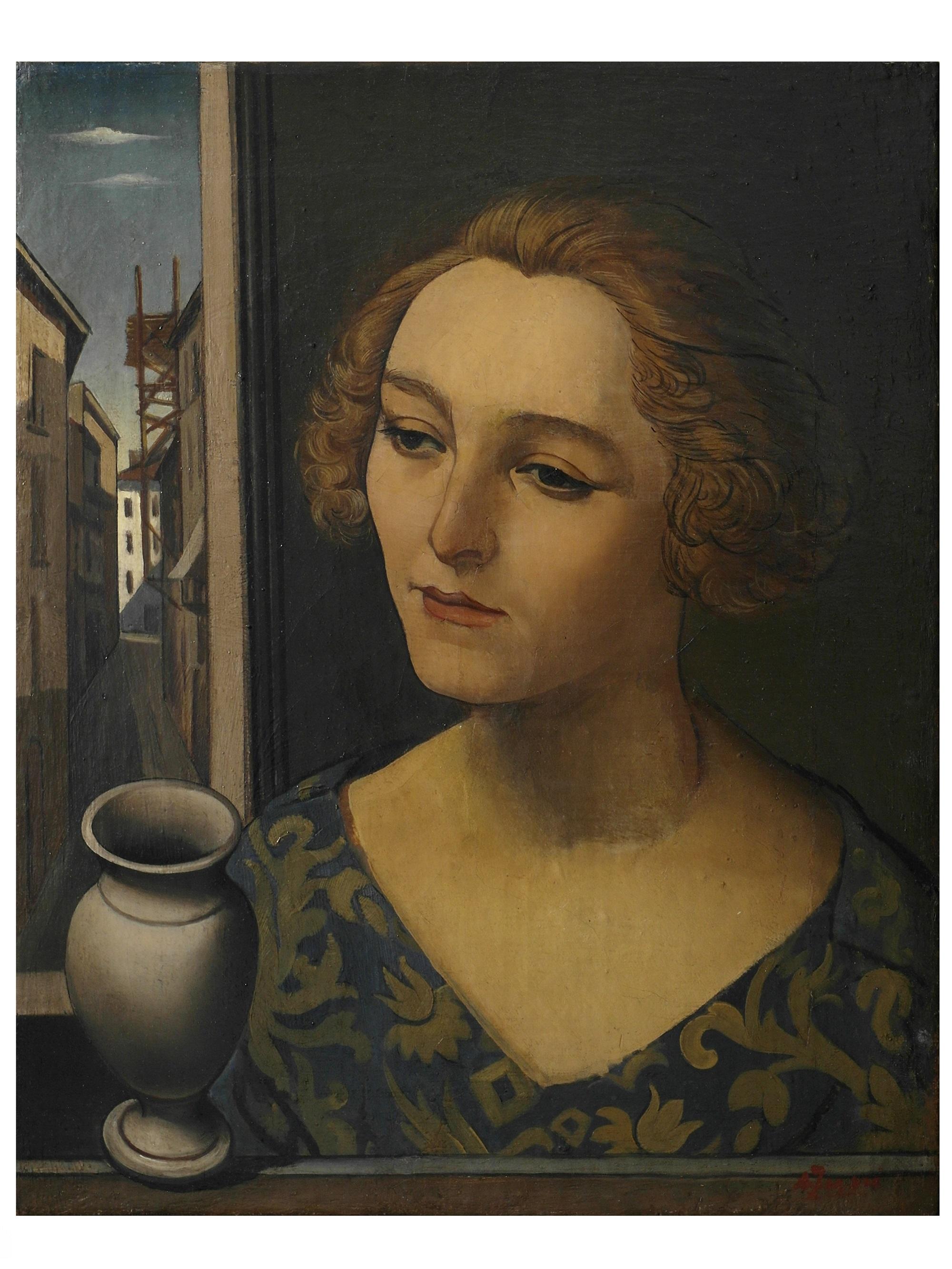 17. A. Funi, Donna alla finestra, 1924 resized