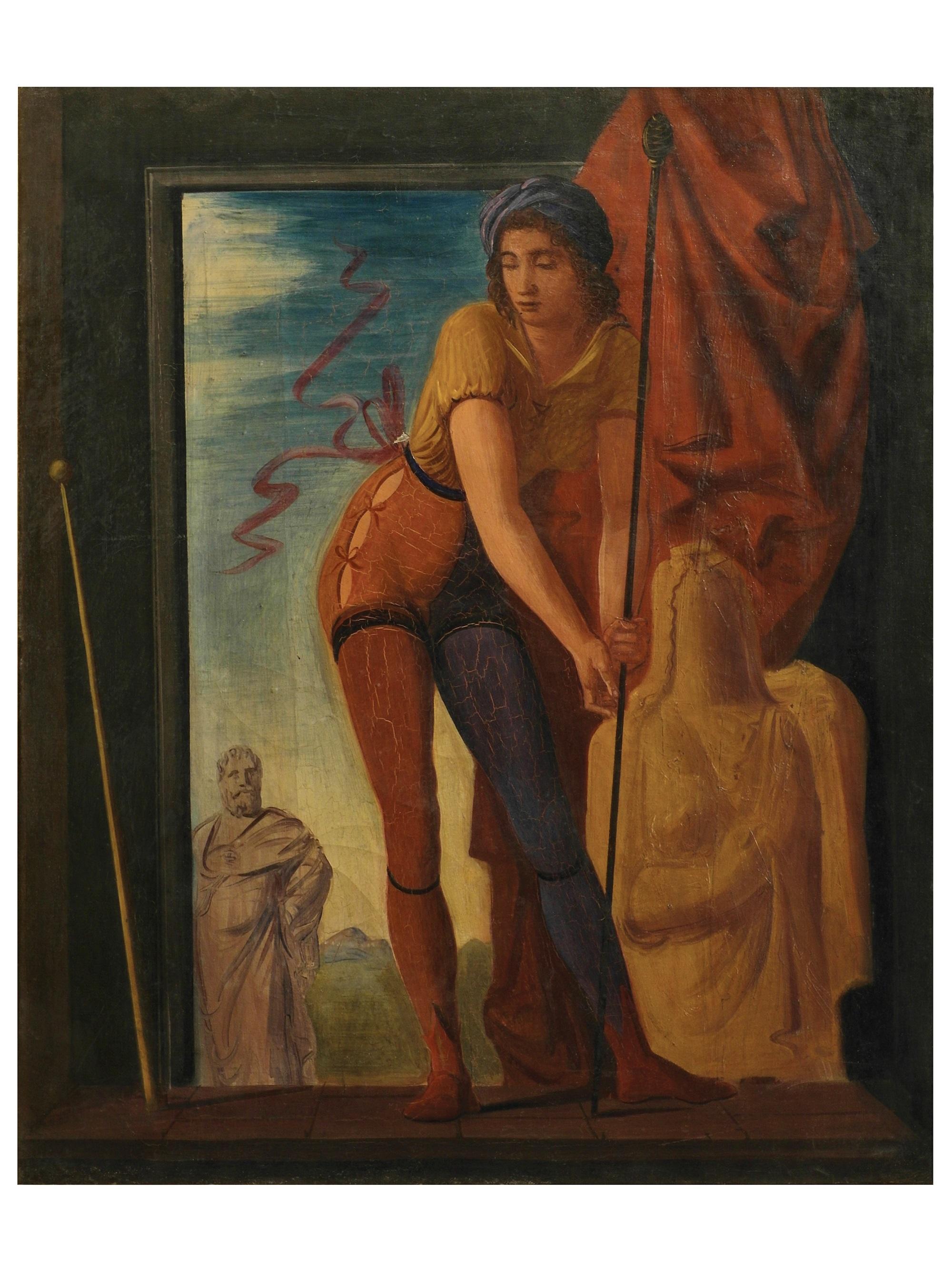 26. A. Funi - Lo studio del pittore, 1939- resized