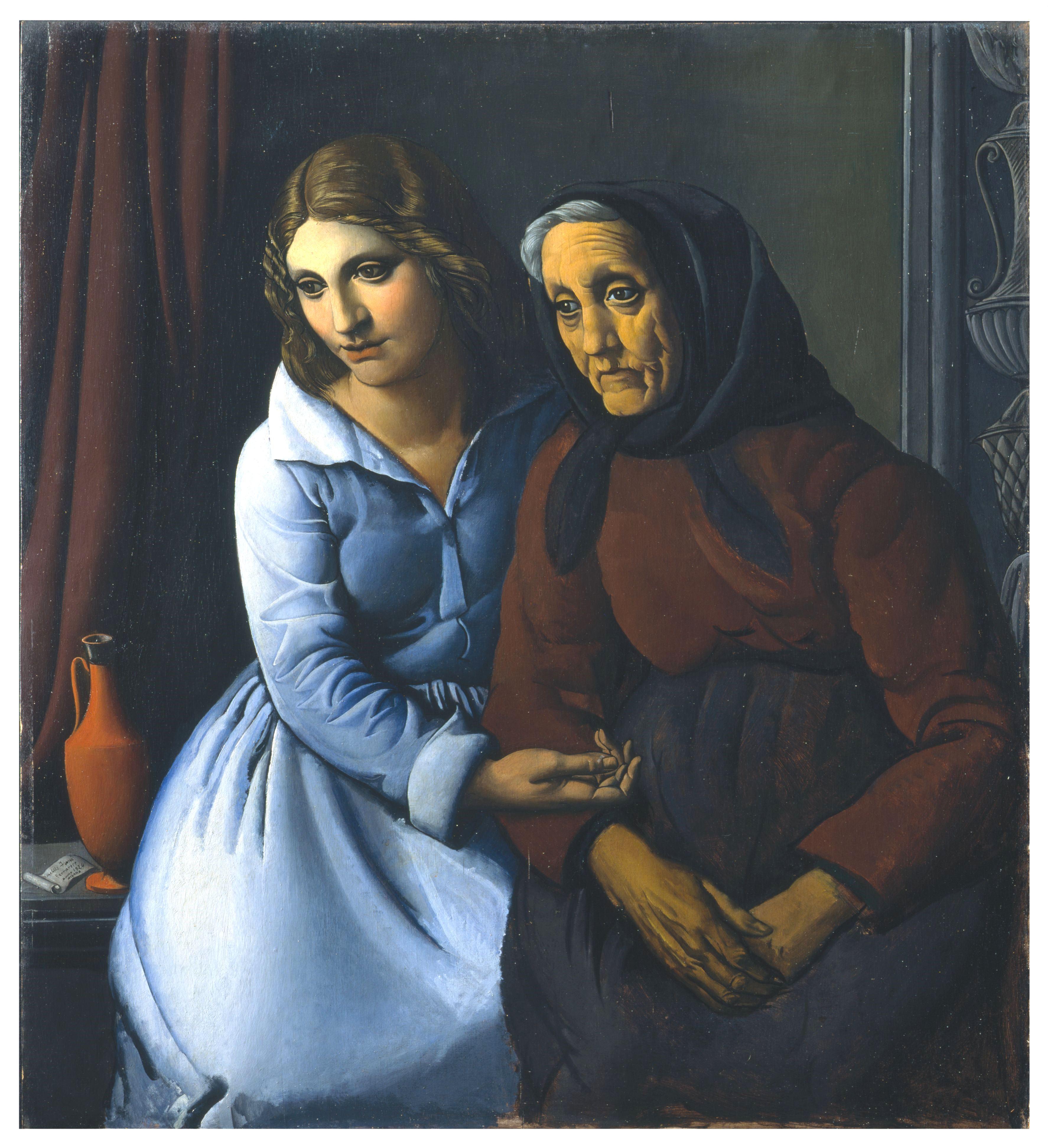 Achille Funi , Una persona e due età, 1924 - jpeg
