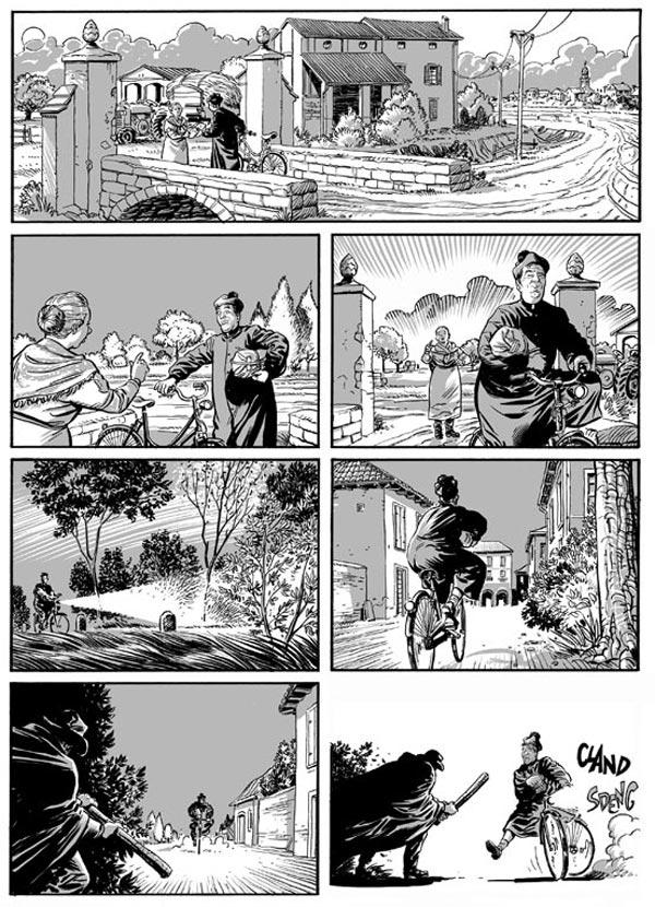 Don Camillo Strisce Fumetti RENOIR