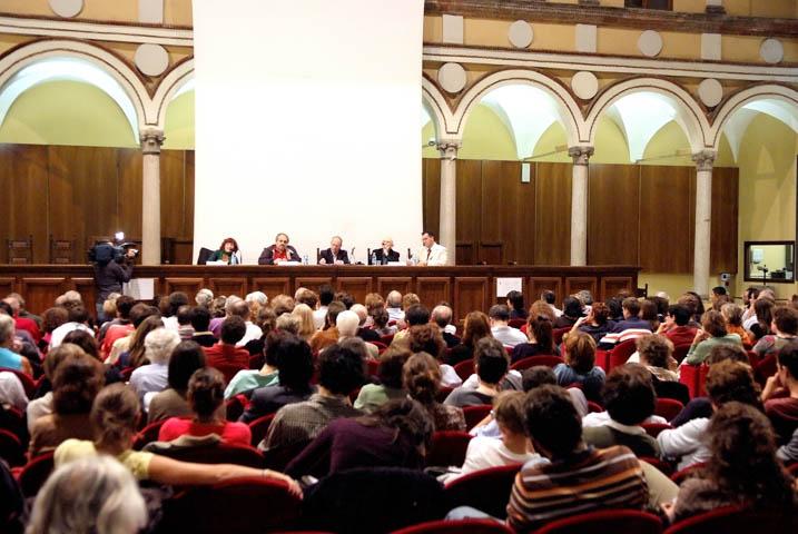 Il pubblico Sala al CMC 2007