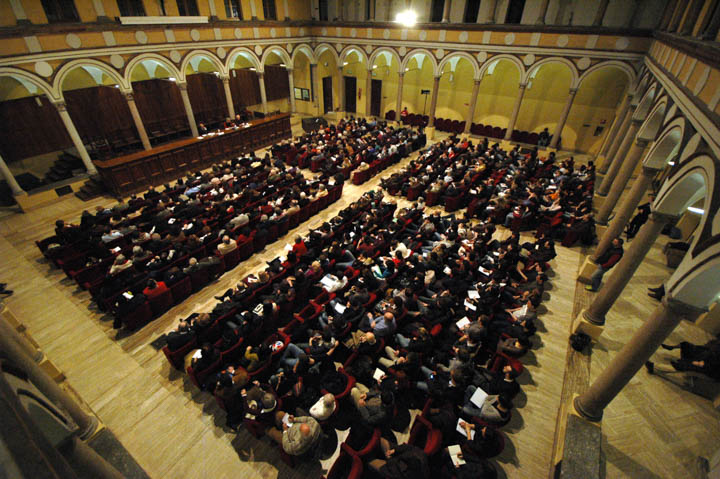 LA Sala e il pubblico Incontro Appelfeld del 2009