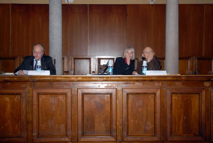 la presentazione di Camillo Fornasieri