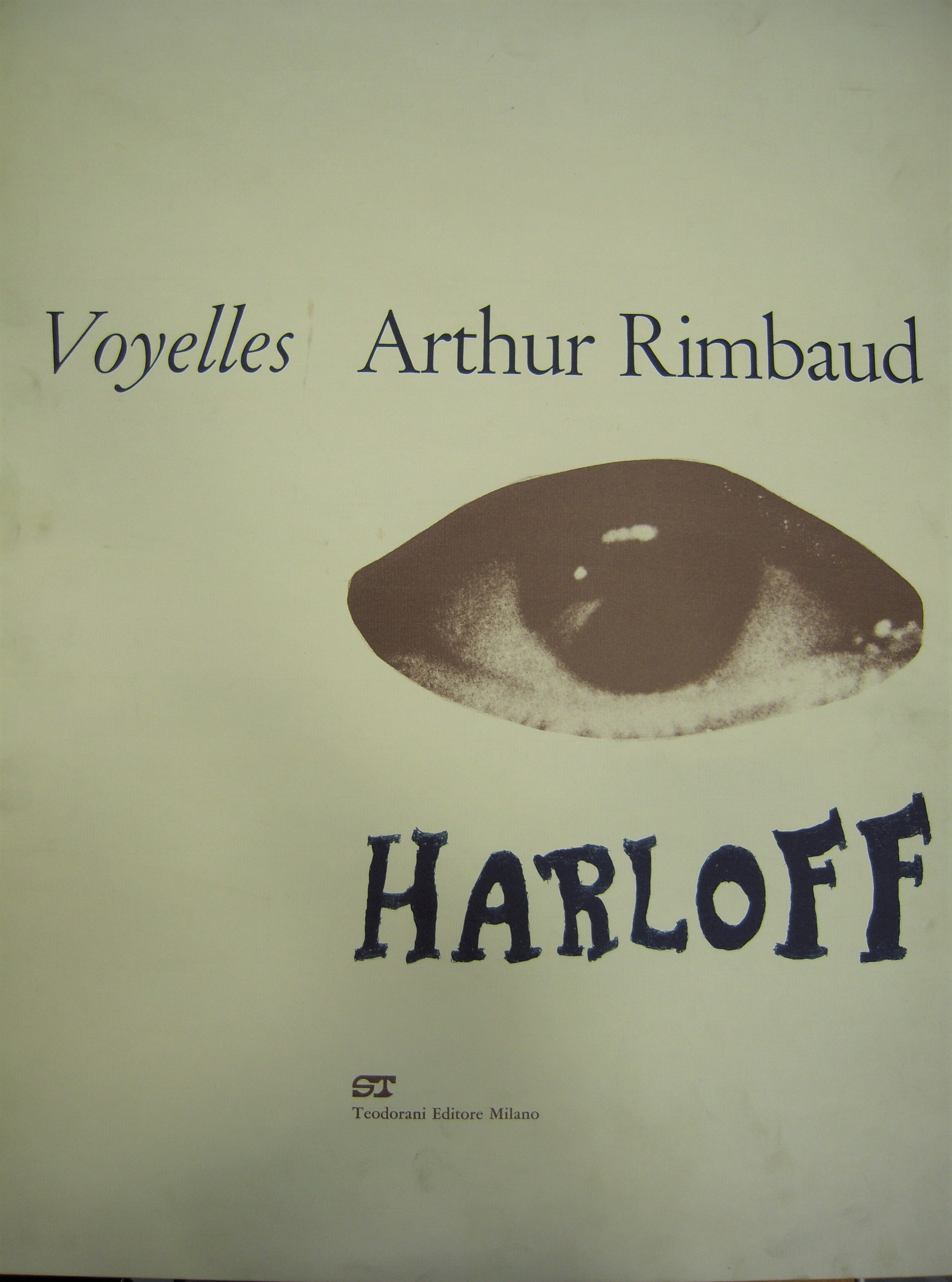 Copertina Libro Rimbaud 1A