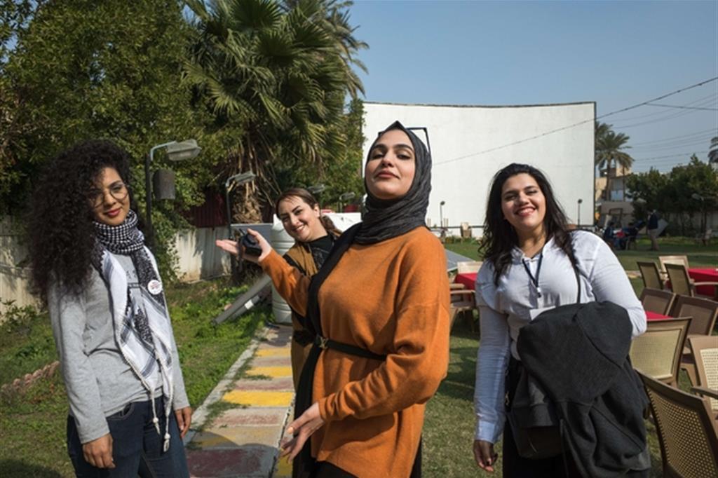 giovani e il sociale Iraq Civil Society Solidarity