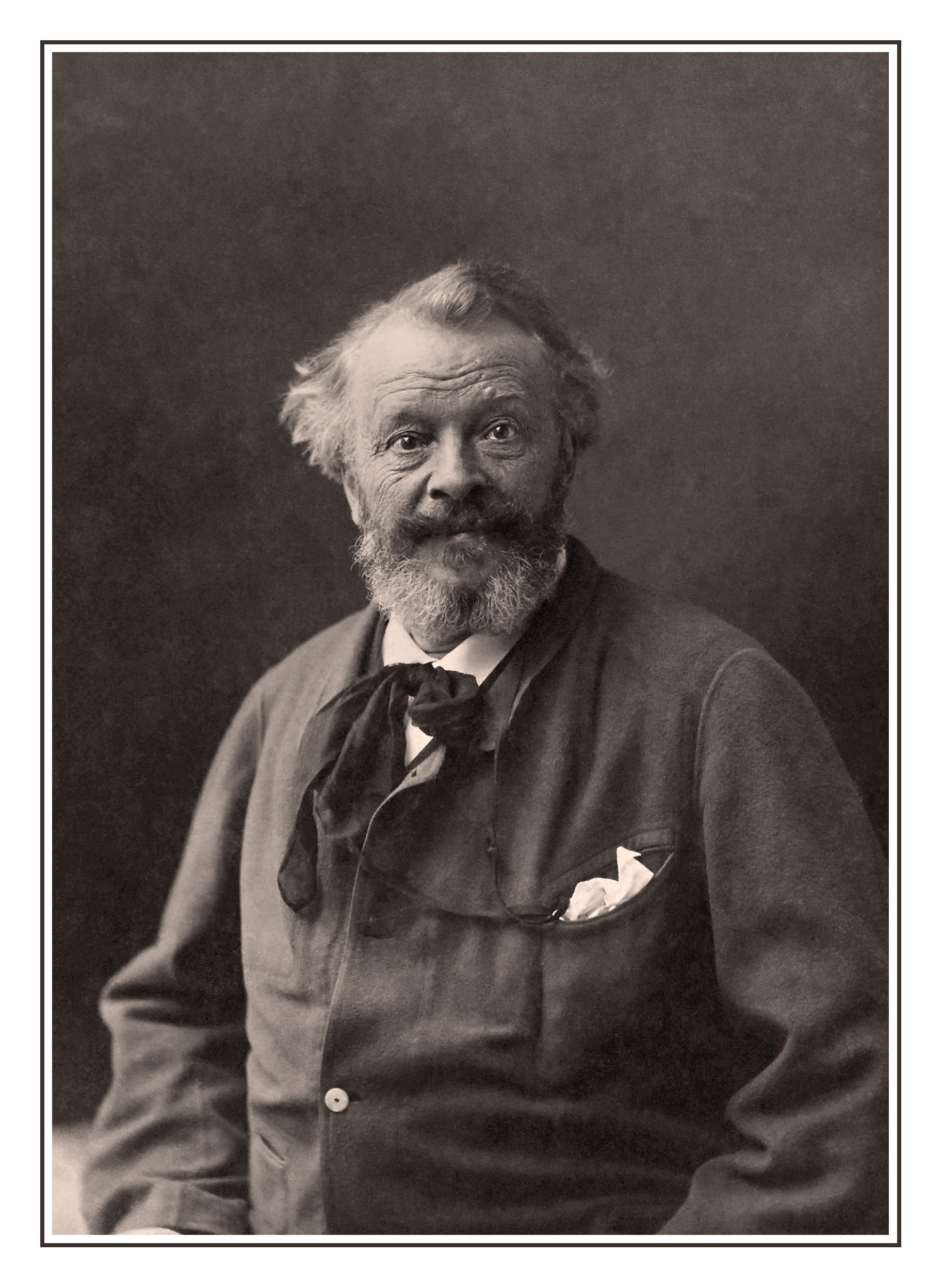 NADAR PHOTOGRAPHER FRANCE STUDIO PORTRAIT Gaspard-Felix Tournachon (6 April 1820 ? 20 March 1910, known by the pseudonym Nadar, was a French photographer, caricaturist, journalist, novelist, and balloonist (or, more accurately, proponent of manned flight)
