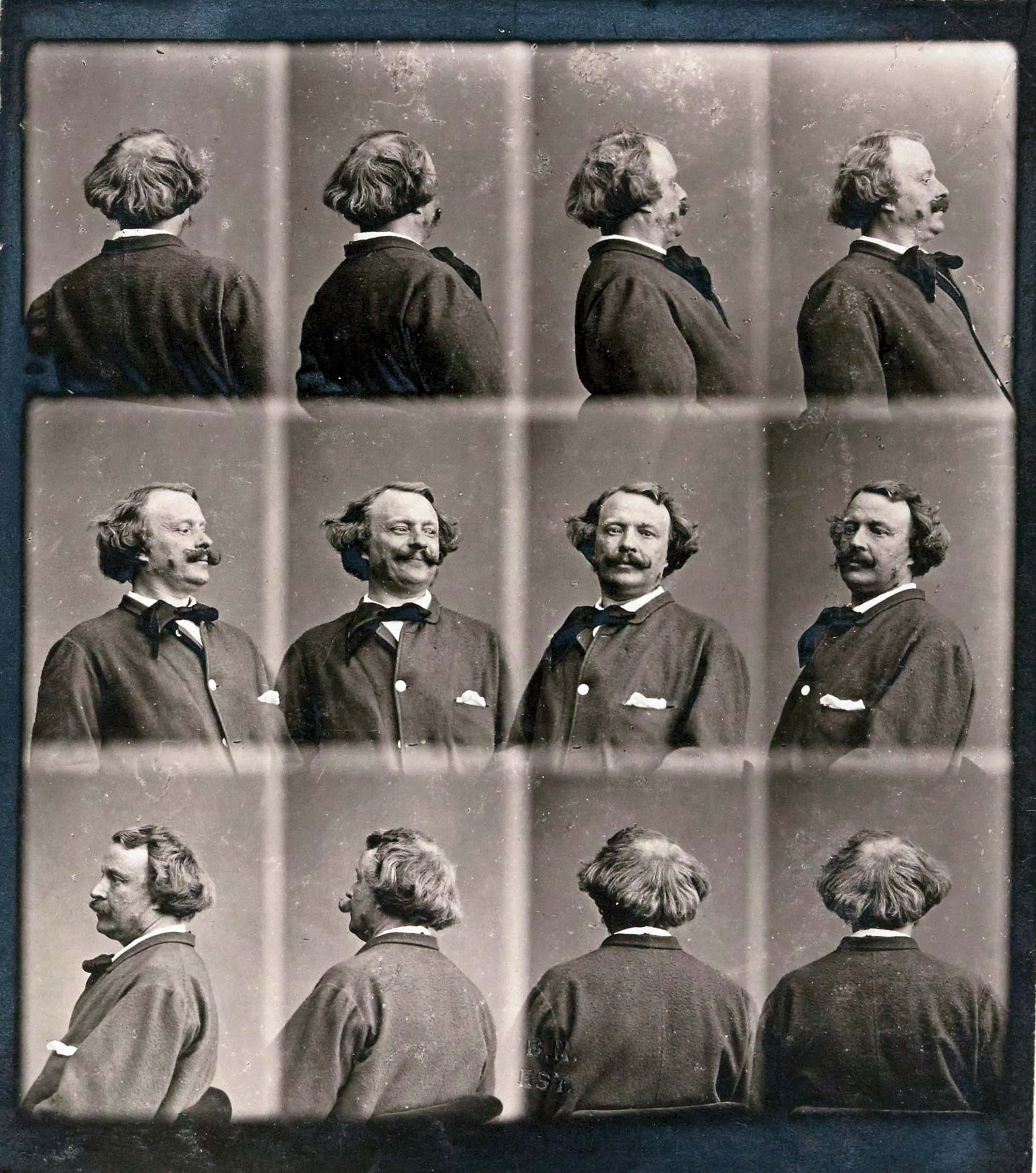 Inverso-Nadar-1865-autoritratto Mostra